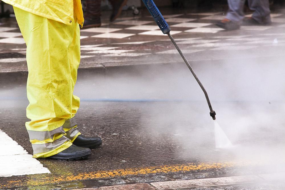 Erka servicios de limpieza limpieza industrial - Maquina de agua a presion ...